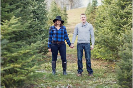 Liza + James - Albion Orchards